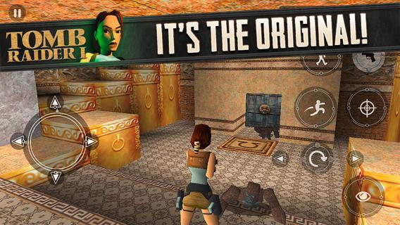 Tomb Raider cuenta con controles táctiles adaptados a móviles y tabletas